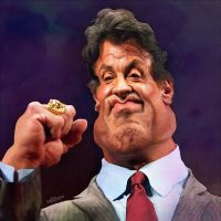 Sylvester Stallone by wooden-horse