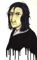 Professor Snape by marodorplanen