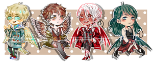 (CLOSED) Winged Adopts by SymFay