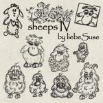 Sheep Brushes 4 by liebeSuse
