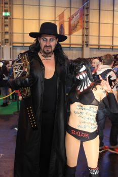 Undertaker and Finn Balor by SeanMaguire1991