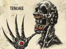 #31DaysofMonsters DAY 11: Tenome by franciscomoxi