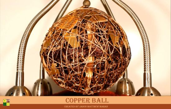 Copperball 22.5 by Brasspineapple