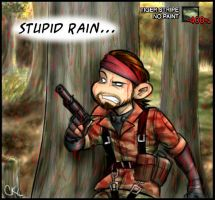 It's Raining Blood...on Snake by Inonibird