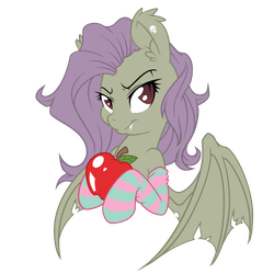Hallowed Flutterbat Vectorization - Bat Colors by FluttershyElsa