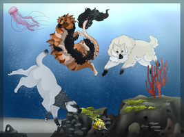 Reef explorers - YCH completed by Mauli-Art