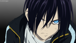 Yato-sama.Vector Art I by demongray