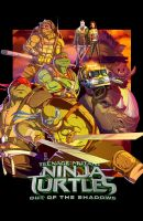 TMNT 2 out of shadows poster by Fpeniche