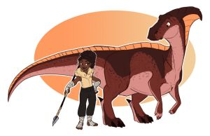 A Girl and her Dino by Earthsong9405