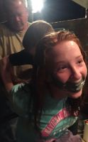 Duct Tape Gagged Me  by HanPotter