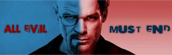 All evil must end (Walter White and Dexter Morgan) by blogcotidiano