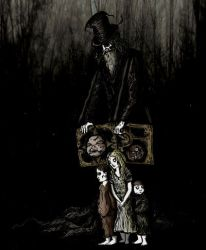The Organ Grinder by The-Misfit-Toy