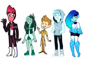 The Crystal Heroes by DB898