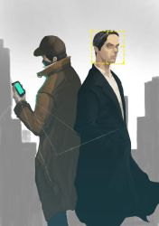 Person of interest and watch_dogs by junior0rulezd00d