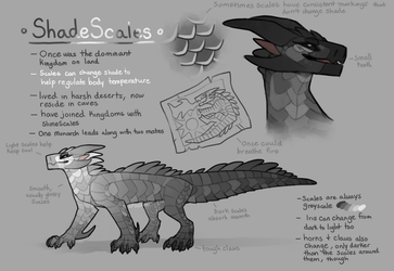 ShadeScales - WoF Fantribe concept thing by Spookapi