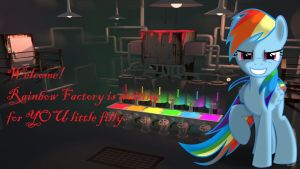 Wallpaper Rainbow Factory is Waiting fo you by Barrfind