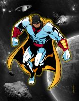 Space Ghost by MichaelCrutchfield