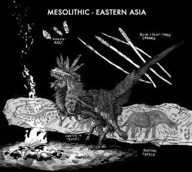 Mesolithic Eastern Asia by povorot