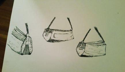 Bag Drawings by TokioFeedsIce