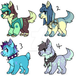 $5 Doggie Adopts!! by spiderliings