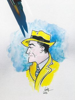 Dick Tracy by Nephellim