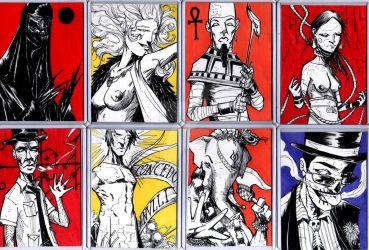 Deity Cards 3 by TheIronClown