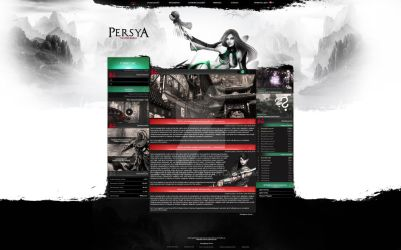 Persya - Webdesign Project by LA-Graphic by LA-Graphic