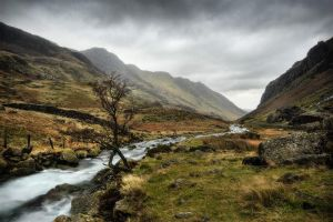 Snowdonia II by Mohain