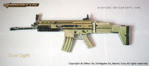 Crossfire Scar Light Papercraft 1 +DOWNLOAD by svanced