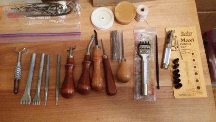 a few more of the leather tools by Refiner