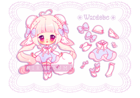 [Adoptable]: *PINKY CUTE* DREAMIMY ~20 [CLOSED] by Hiratsumi