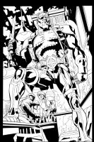 Deathstroke Issue 2 Page 5 by aethibert