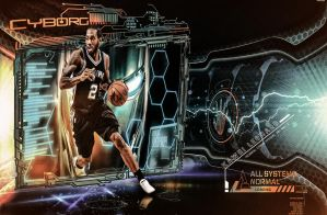 Kawhi Leonard - Cyborg RETURN ! by AYGBMN