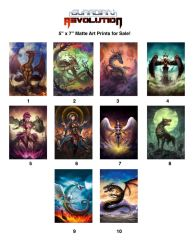 Guardian Revolution Art Prints for Sale! by LittleJellyWorks