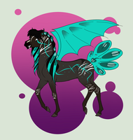 N3465 Tourmaline Ref[Fractured, Nugisa, Sora Mare] by Plants-And-Tattoos