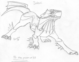 Solari Drawing by Alexis101