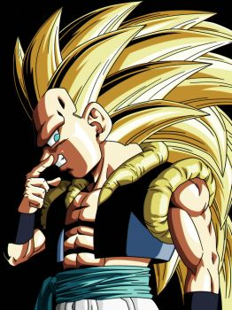 Dragon Ball Z - Gotenks (Perfil) by VictorMontecinos