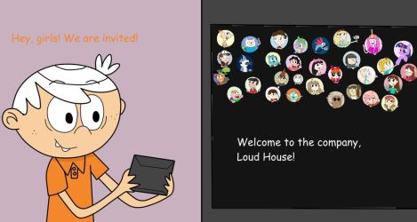 Louds Are Welcome to my Tooniverse by 04StartyCornOnline88