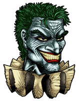 Commish: JOKER'S Head Logo by VAXION