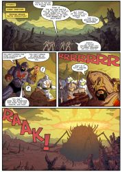 PoP/MotU - The Coming of the Towers - page 1 by M3Gr1ml0ck
