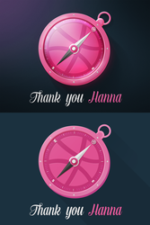 Dribbble compass by rsx1988