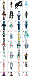 MY MODELS COLLECTION (+DOWNLOAD LINKS) by Birko91