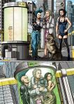 Commission Teleport Troulbe Color Pag. 01 of Four by leandro-sf