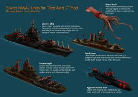 RA2 Mod- Soviet Naval Units by Harry-the-Fox