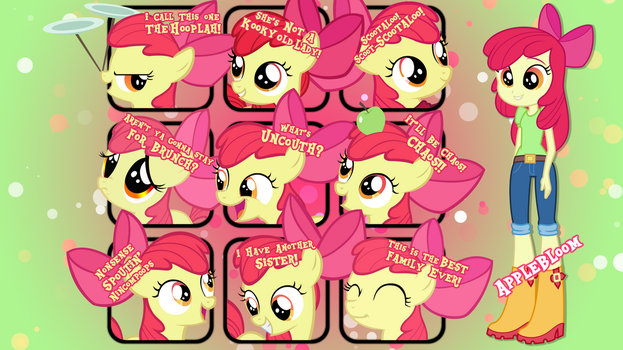 Applebloom Quotes Wallpaper by MrPiBB-93