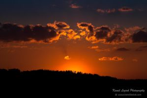 St. John's Eve sunset by vertiser
