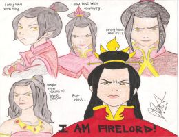 Fire Lord Azula by zutaraxmylove