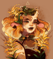 Goldenrod by GDBee