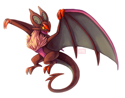 Noivern! by SplatterParrot