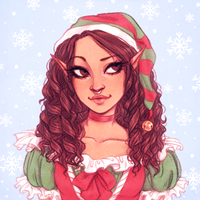 Christmas Icon for Lovexombie on Twitter! by Naimly
